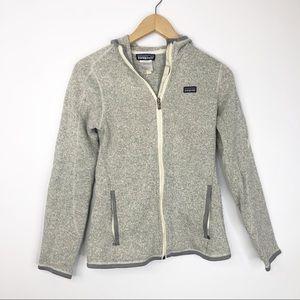 Patagonia Full Zip Gray Better Sweater Jacket